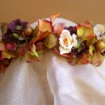 Autumn Sunset Head Wreath