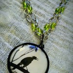 Black Birds are calling - necklace