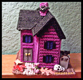 Gothic Halloween Miniature House