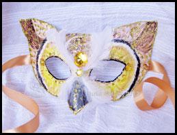 Owl Fantasy Mask