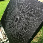 Web on canvas