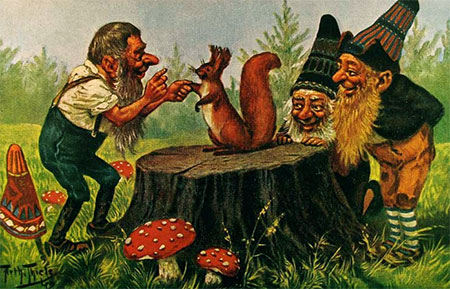the secret history of gnomes halloween artist bazaar