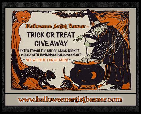 Halloween Artist Bazaar 2014 Trick or Treat Giveaway