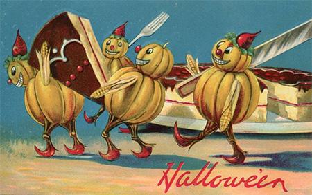 http://www.halloweenartistbazaar.com/soul-cakes-and-the-sugar-skulls/#.VFZznb1nnoA.facebook
