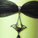 Skullbaby vampire bat