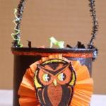 Owl Trick or Treat Bucket