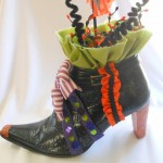 If the Shoe Fits...Witches Tea Party Decoration