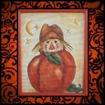 Primitive Scarecrow Pumpkin Holiday Hijinks