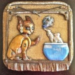 Steampunk Kitty Treasure Box